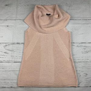 Tahari Alexis wool blend cowl neck sweater NWT S11